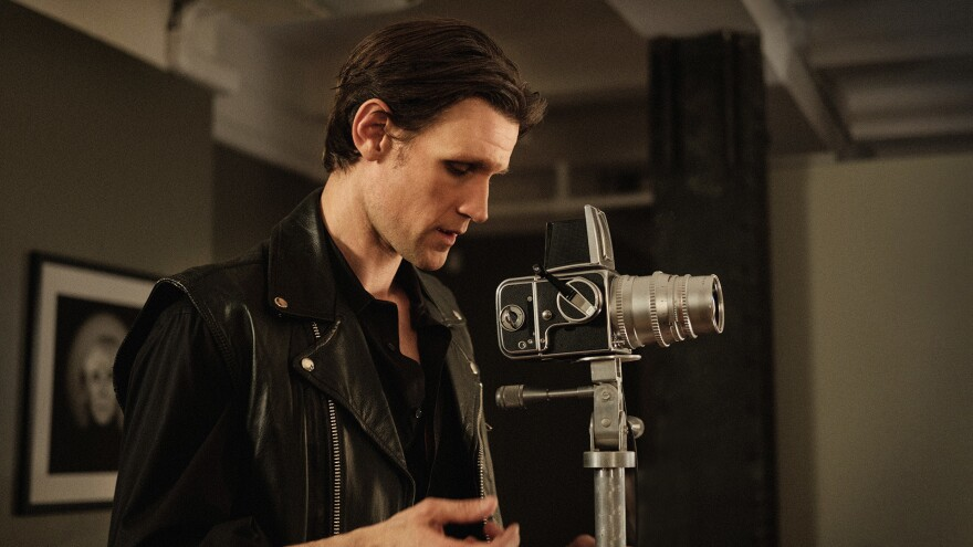 We're Gonna Need A Wider Lens: Matt Smith plays photographer Robert Mapplethorpe in a new biopic.