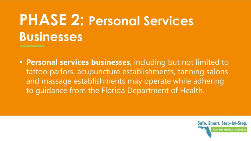 Explanation of Phase 2 effect on personal services.