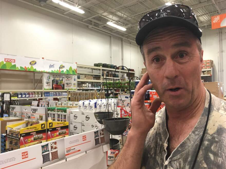 Roy Schell in Home Depot.