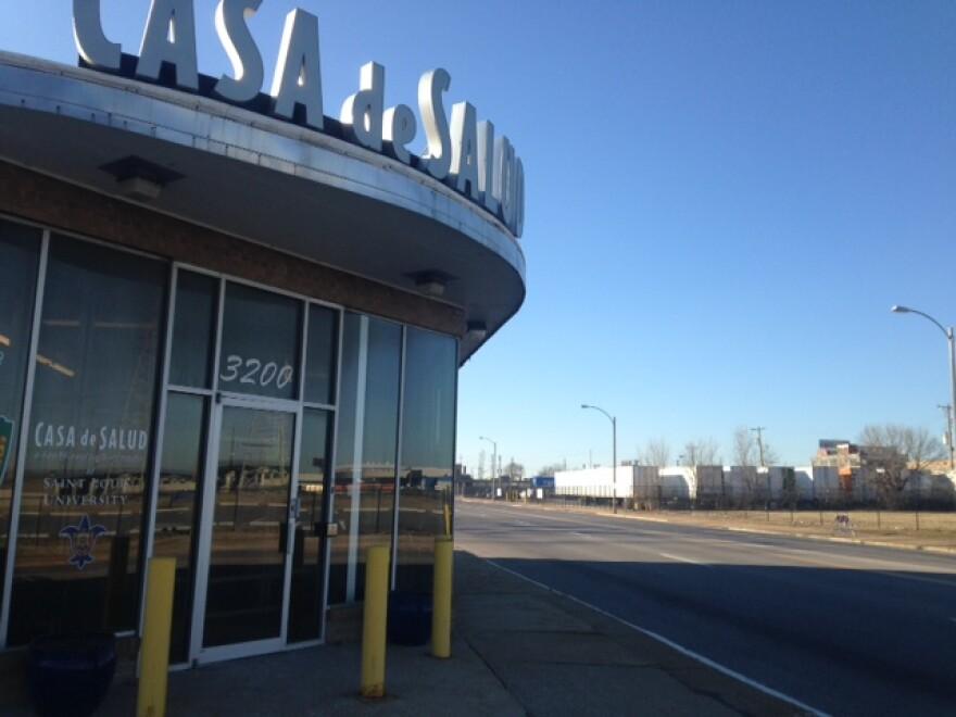 Casa de Salud sits at 3200 Chouteau Avenue in Midtown. 01/15/15