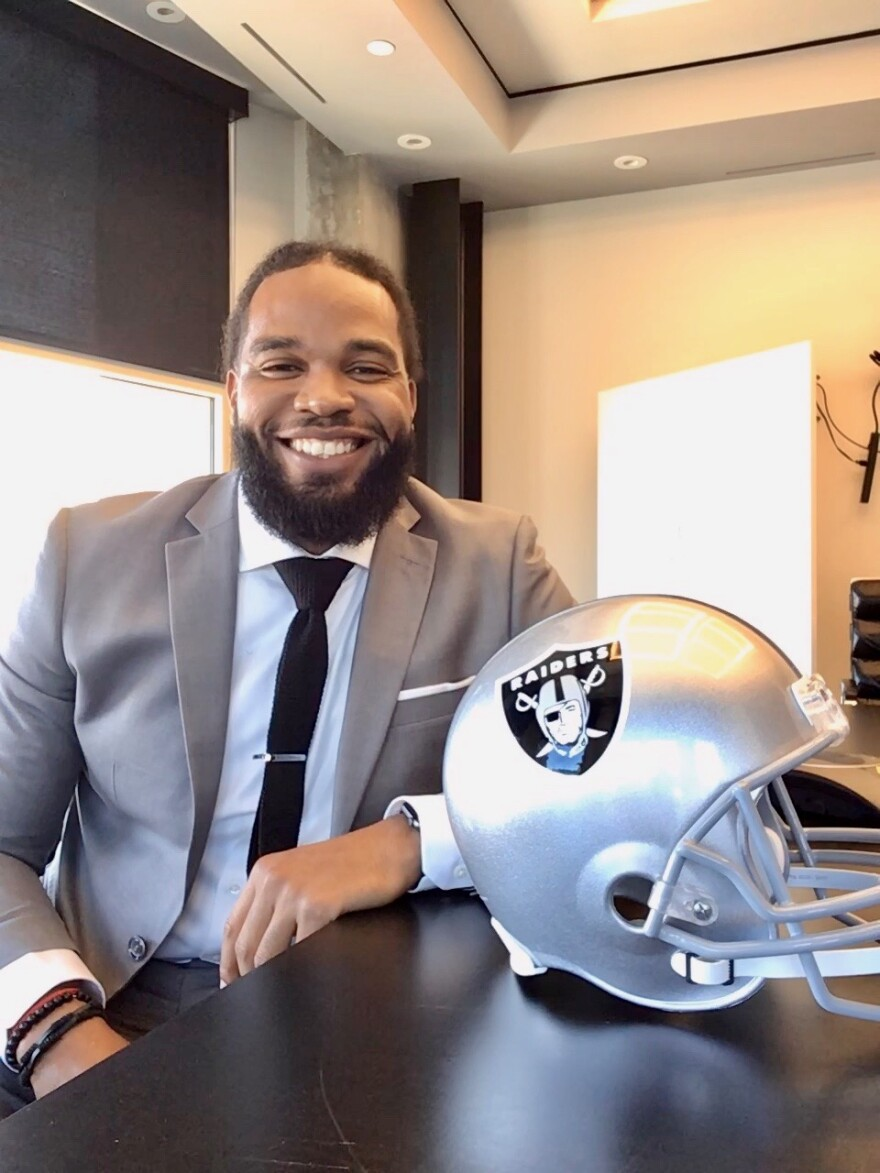 Devon Lewis-Buchanan, founder of Inspire Youths, joins Las Vegas Raiders as in-house clinical social worker