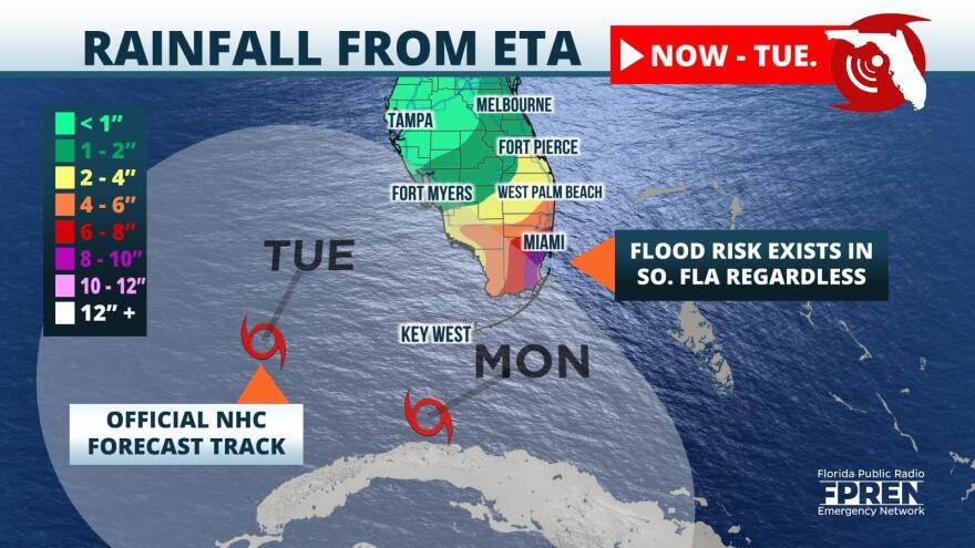 Tropical Depression Eta Cone