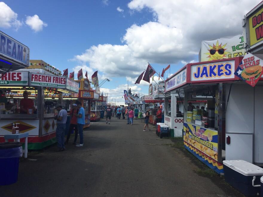 A photo of the Portage County Randolph Fair.