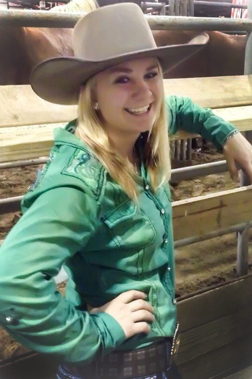 Megan Yurko will compete this weekend in the world championship competition at the International Finals Rodeo in Oklahoma City.