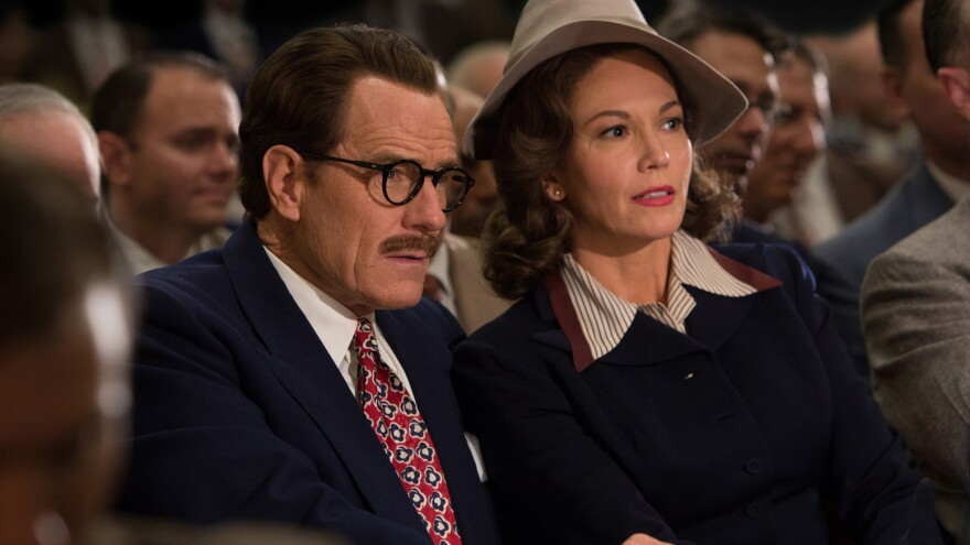 Bryan Cranston and Diane Lane play Dalton and Cleo Trumbo in a new film about the screenwriter's life.