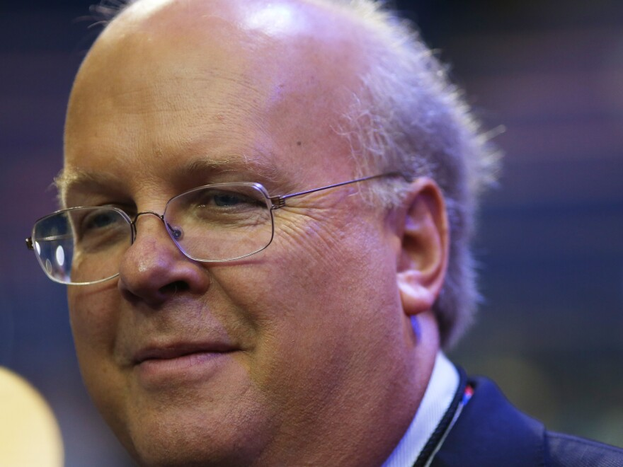 Karl Rove, the founder of Crossroads GPS and a former adviser to President George W. Bush, at the Republican National Convention in Tampa, Fla., on Aug. 28.