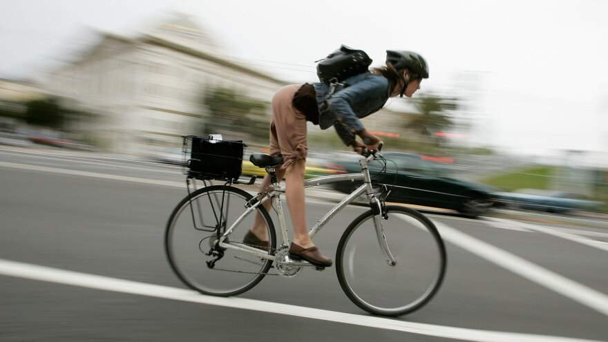 The uptick in serious bike injuries occurred for both male and female cyclists, although more men get in accidents each year.