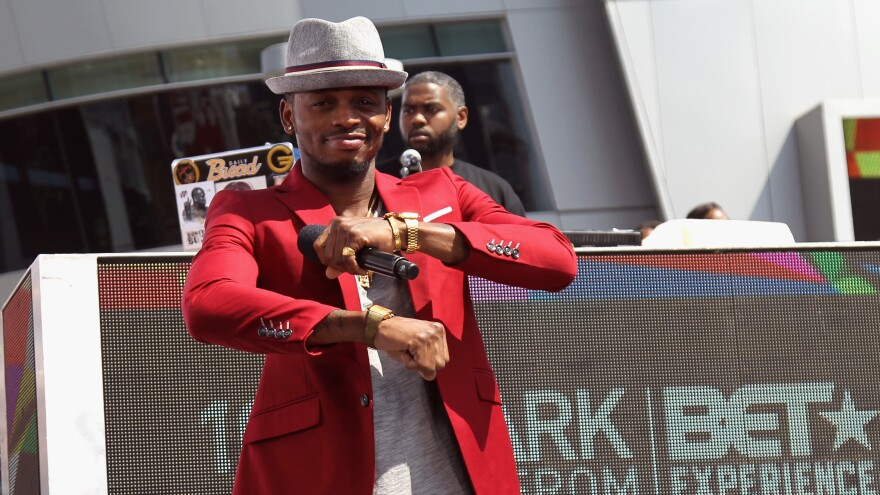 Tanzanian superstar Diamond Platnumz performs onstage during the 2016 BET Experience in Los Angeles.