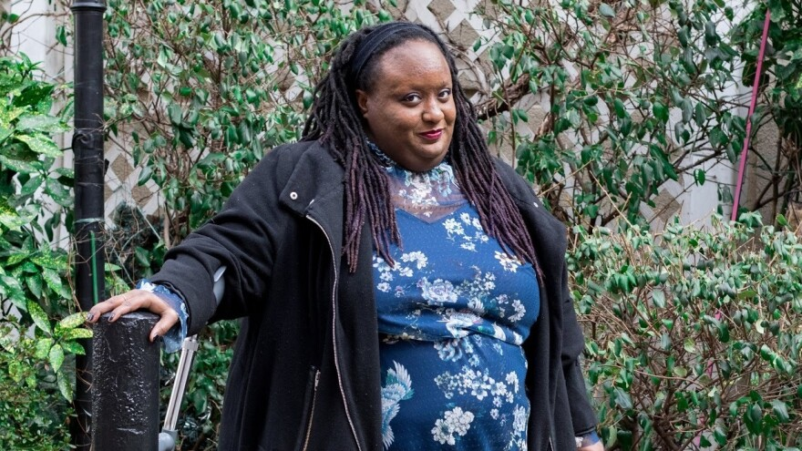 """There seems to be this sense where disabled people are kind of seen as oddities and forced to go through this world to be singled out and othered,"" says Imani Barbarin. ""There's really no common sense attached when able-bodied people approach disabled people."""
