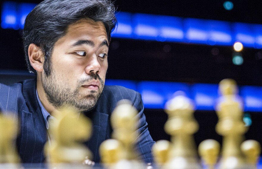 Grandmaster Hikaru Nakamura at the Super GM event in Norway in June, 2017. Nakamura got second place in the event.