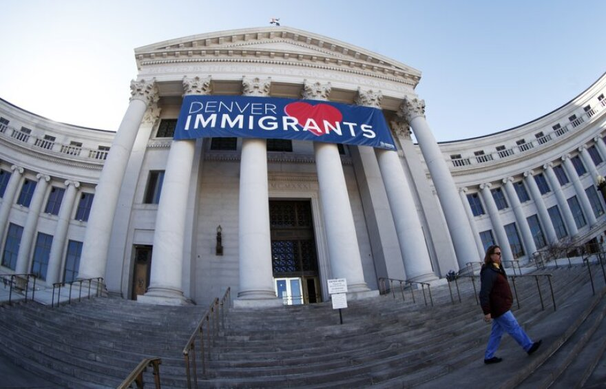 U.S. Immigration and Customs Enforcement has subpoenaed Denver law enforcement for information on four foreign nationals wanted for deportation and could expand the unusual practice to other cities