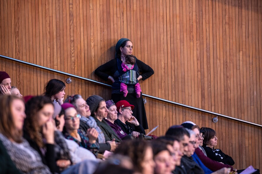 Some 3,000 women of all ages attended their first-ever large celebration for the completion of the Talmud, at a convention center in Jerusalem.