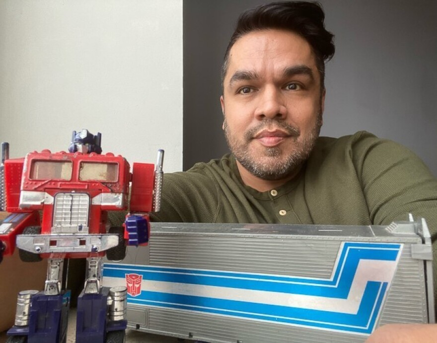 Jorge Valdivia still has the Optimus Prime Transformer that his late brother Mauricio got him one Christmas when they were young.