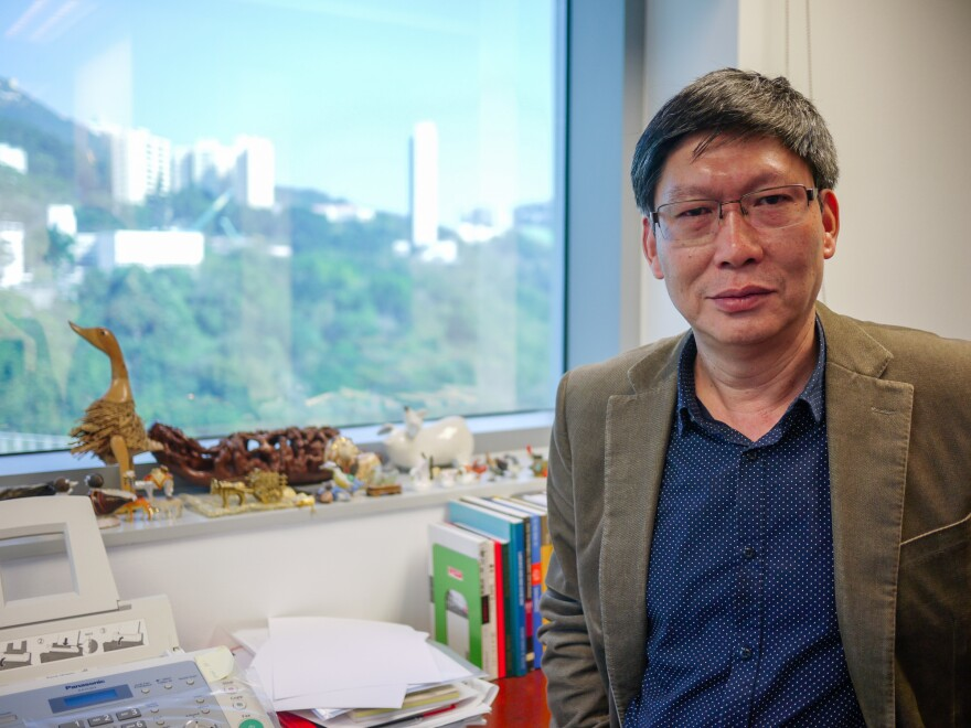 """Guan Yi is the director of the State Key Laboratory of Emerging Infectious Diseases and the Center of Influenza Research at the University of Hong Kong. """"We are trying our best,"""" he says about efforts to fight avian flu. """"But we still can't control this virus."""""""