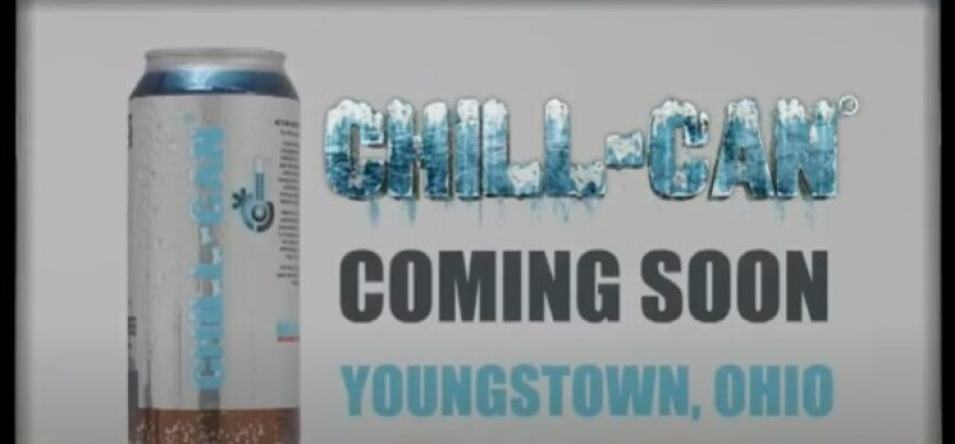 screenshot of Chill Can commercial