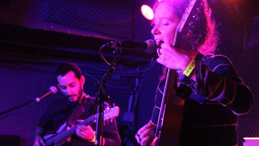 Buke and Gass performs live from the Rock 'n' Roll Hotel in Washington, D.C.