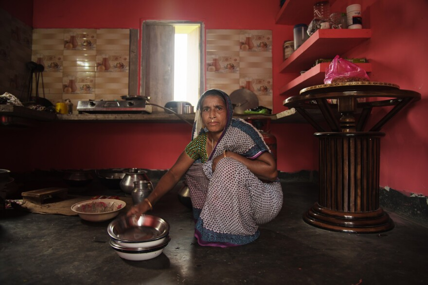 """Nessa has lived in the same impoverished village in northeast India all her life. Indian citizenship allows her family to qualify for food rations. """"We're poor, and we rely on government food rations — seven of them, one for each member of our family,"""" Nessa says. """"I'm worried we'll lose them."""""""