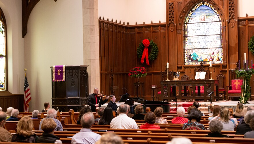 """A performance of """"Midday Noels"""" on Thursday, Dec. 5. There are also performances on Dec. 12 and Dec. 19."""