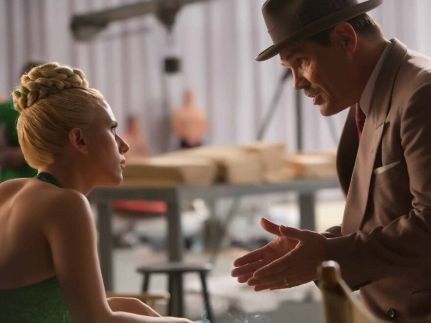 Scarlett Johansson and Josh Brolin in <em>Hail, Caesar!</em>