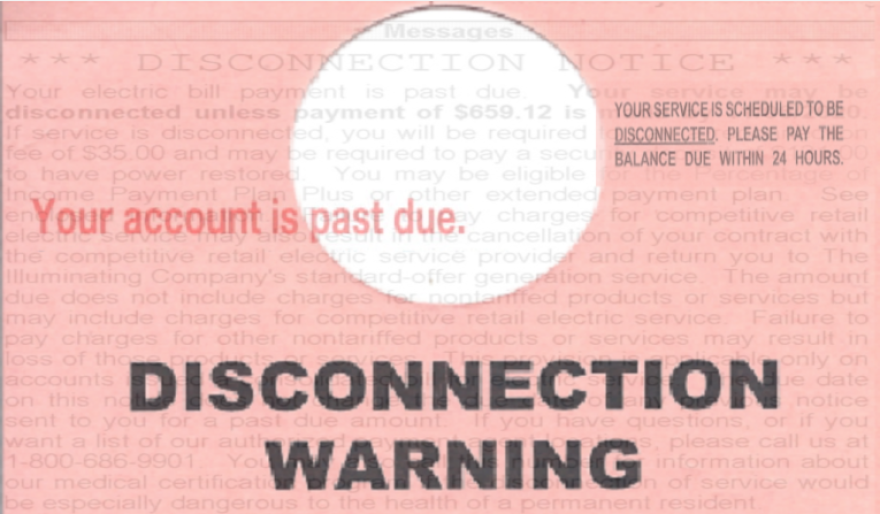 Disconnection Notice