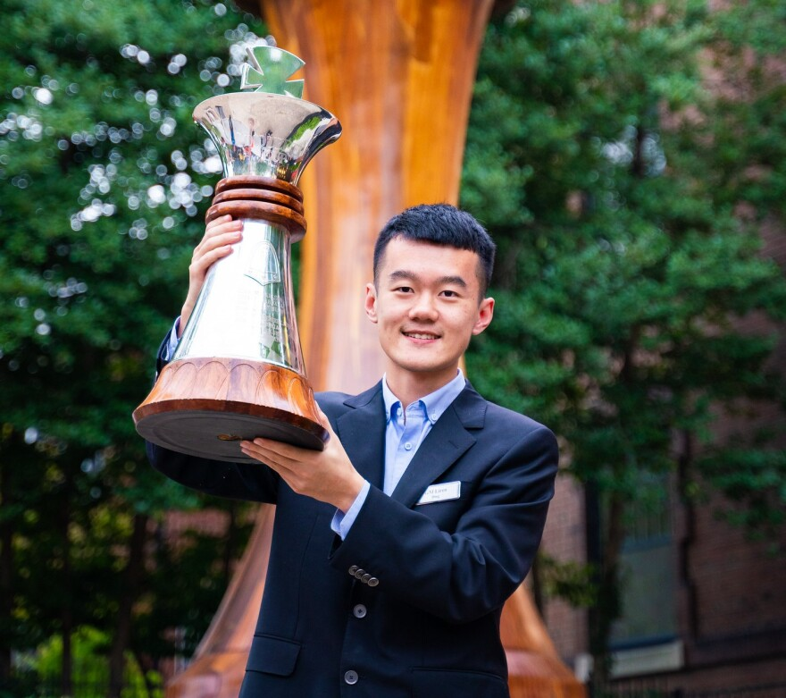 Ding Liren of China upset the favorites to win the top prize at the 2019 Sinquefield Cup.