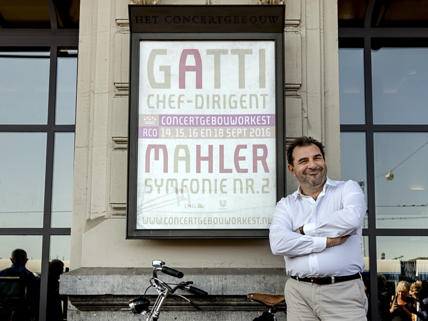 Daniele Gatti had a short tenure as the chief conductor of the Royal Concertgebouw Orchestra in Amsterdam.