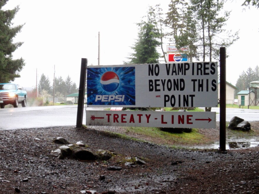 Local businesses on the Olympic Peninsula embrace the notoriety that the <em>Twilight </em>series of books and movies has brought to the region.