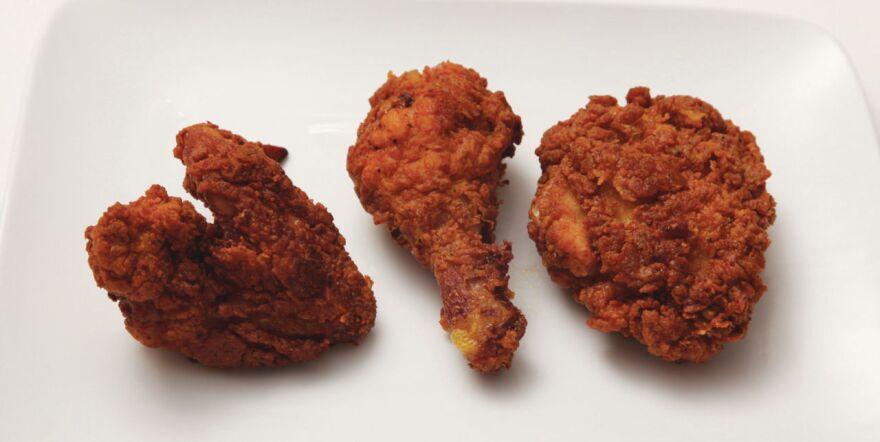 Lopez-Alt's Extra-crunchy Southern Fried Chicken.