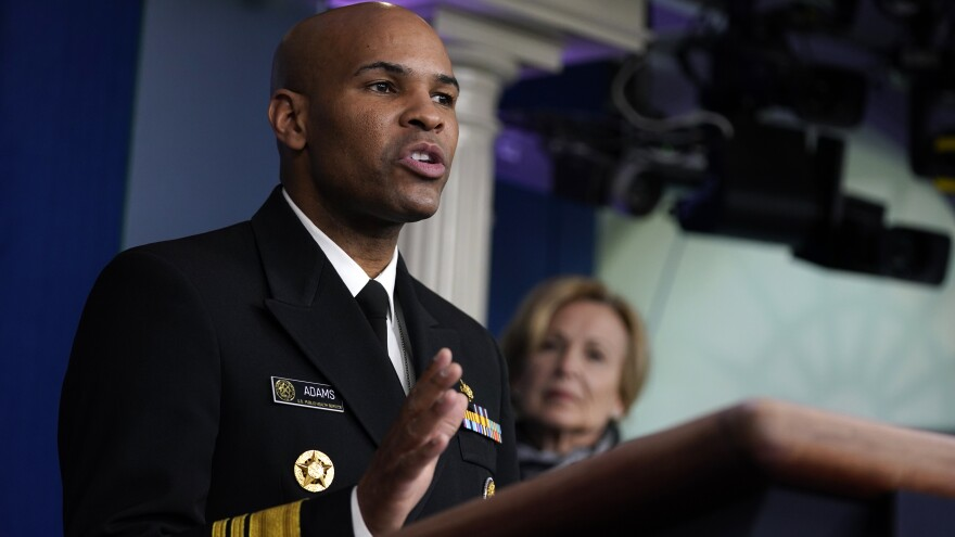 """""""We really need to come together as a nation"""" to fight the COVID-19 respiratory disease,<strong> </strong>Surgeon General Jerome Adams said on Monday. America's top doctor warned that """"this week it's going to get bad."""""""
