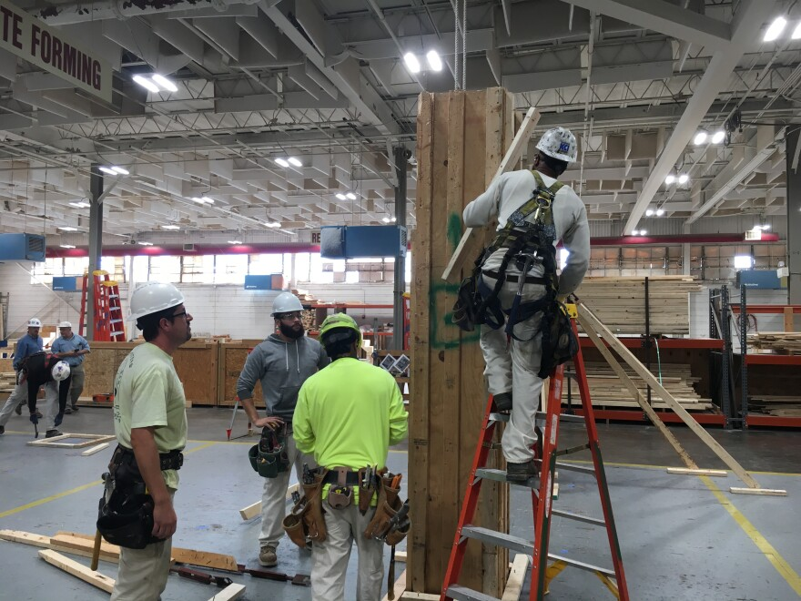 The St. Louis - Kansas City Carpenters Regional Council trains  apprentices at its training facility in Affton.
