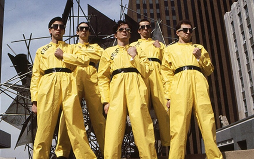 a photo of the band DEVO