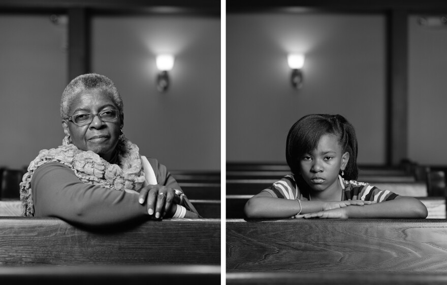 "<em>Mary Parker and Caela Cowan, Birmingham, AL,</em> from the series ""The Birmingham Project,"" 2012; Rennie Collection, Vancouver"