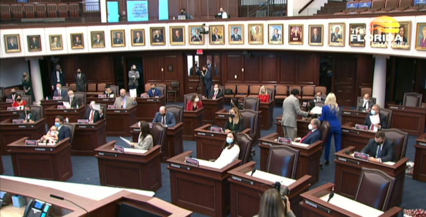 Florida's Presidential Electors meet in the state Capitol on December 14, 2020