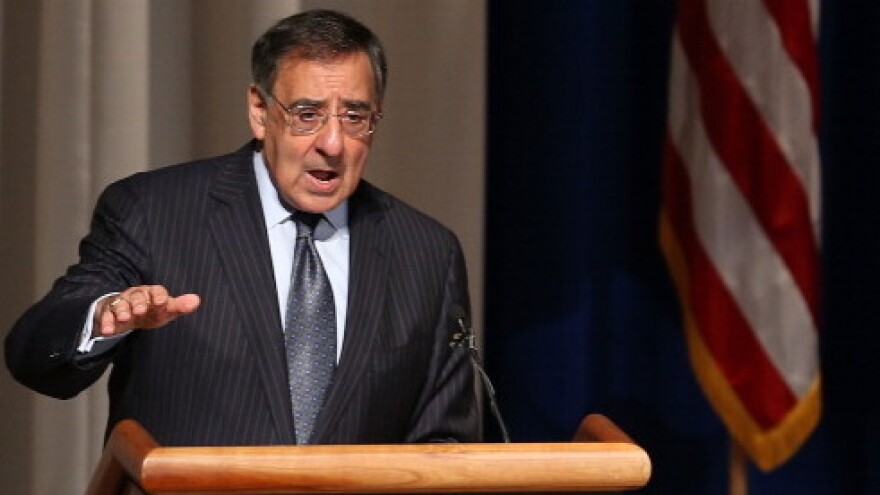 Secretary of Defense Leon Panetta.