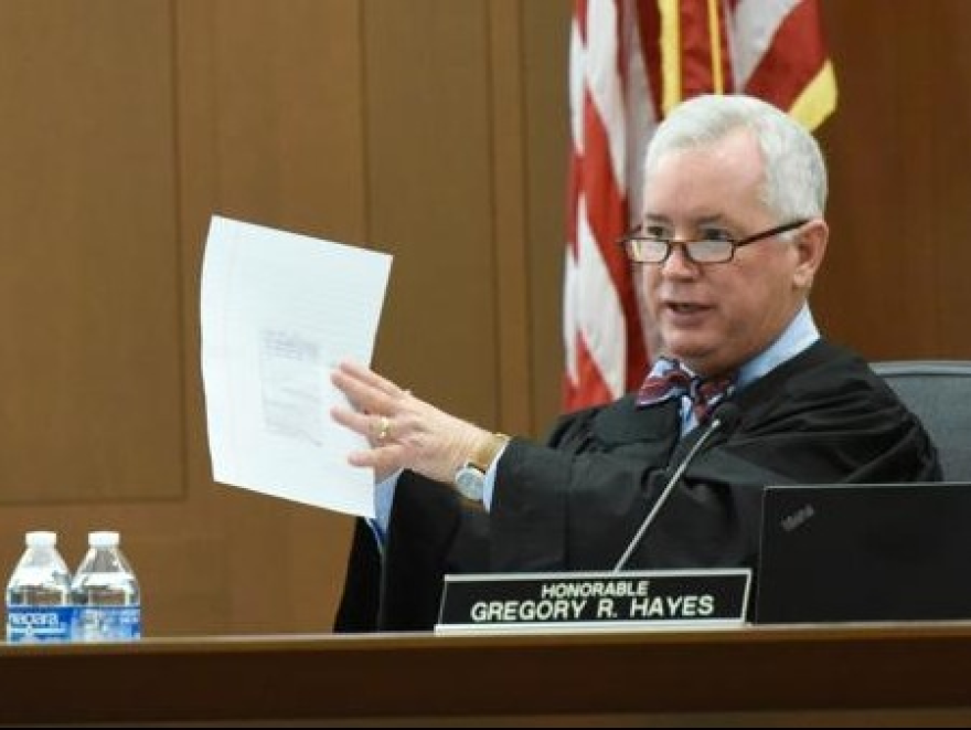 Judge Gregory Hayes