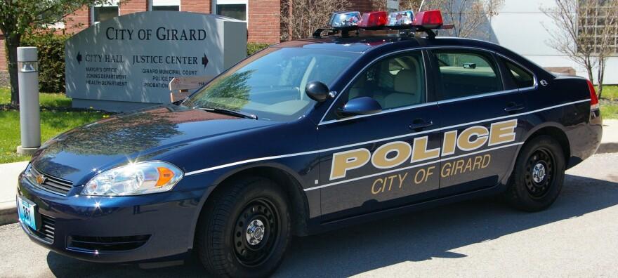 Girard police patrol car
