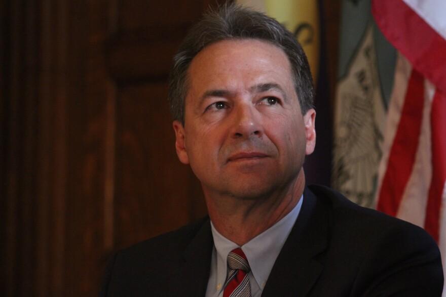Montana Governor Steve Bullock.