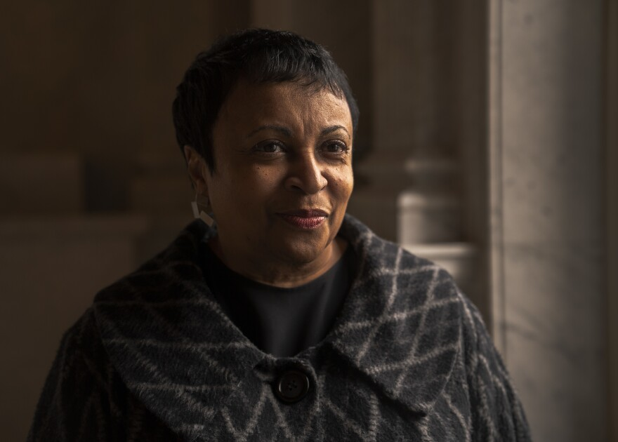 Carla Hayden, the librarian of Congress, says Rosa Parks' strength comes through in the forcefulness of her writing.