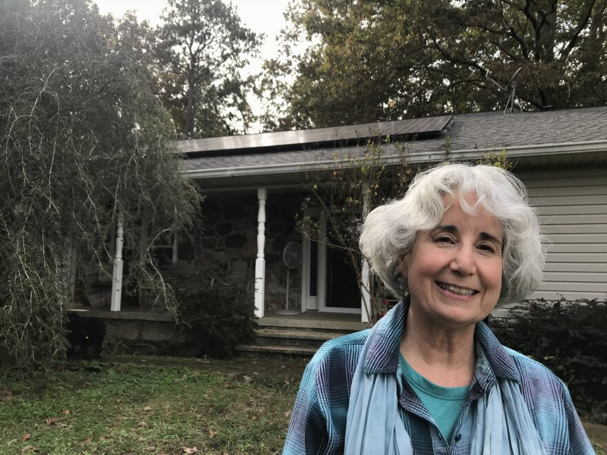 T.K. Thorne says the $20 monthly solar fee she pays to Alabama Power will double the time it will take to pay off her rooftop solar system.