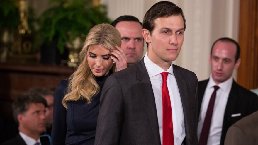 President Trump's son-in-law and top adviser, Jared Kushner, will talk to the Senate Intelligence Committee.