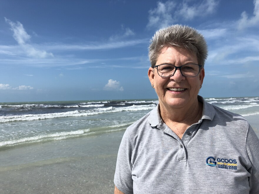 Barbara Kirkpatrick is the Executive Director for the Gulf of Mexico Coastal Ocean Observation System (GCOOS). Jessica Meszaros/WUSF