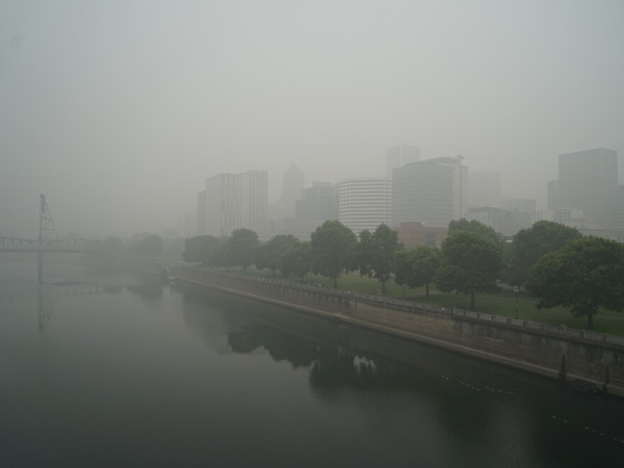 Millions of people in cities small and large, like Portland, Ore., were exposed to hazardous levels of smoke for multiple days this summer.