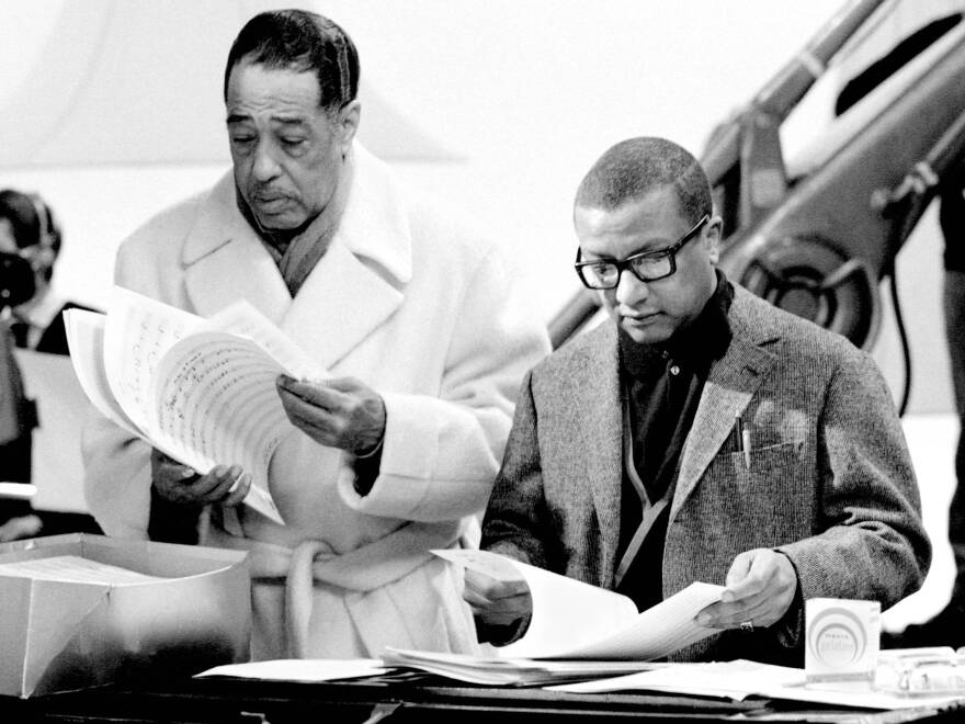 Billy Strayhorn (right), born 100 years ago, spent the majority of his career as a composer and arranger for the Duke Ellington Orchestra.