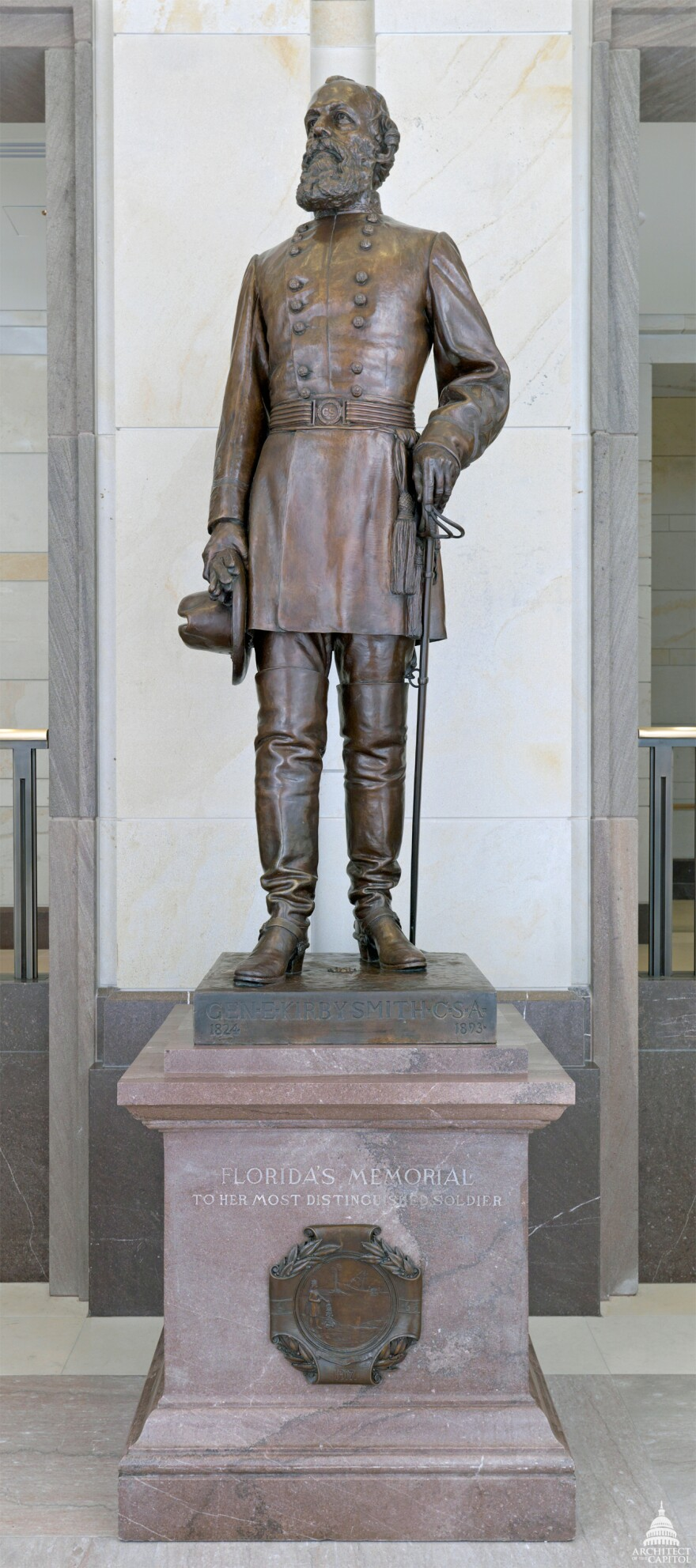 Florida's statue of Edmund Kirby Smith in Washington D.C.