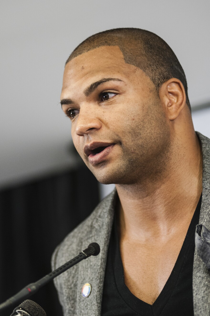 "Brendon Ayanbadejo, an activist and former NFL player, drew criticism for voicing his support for same-sex marriage. He calls the league's recent shift on players who protest ""just a moral victory."""