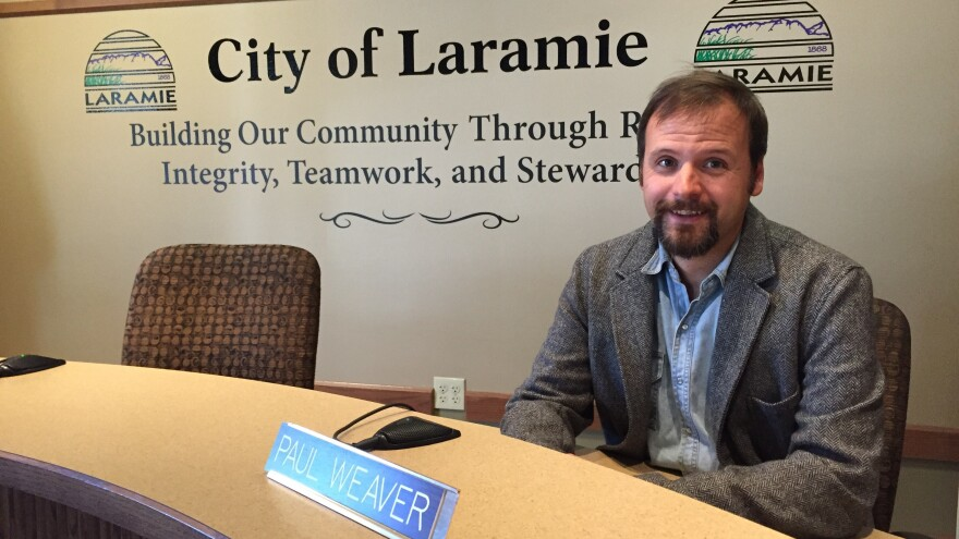 Paul Weaver, Laramie City Council representative, says that when the state of Wyoming failed to act, Laramie saw the need for action and stepped in to protect gays and lesbians in the community.