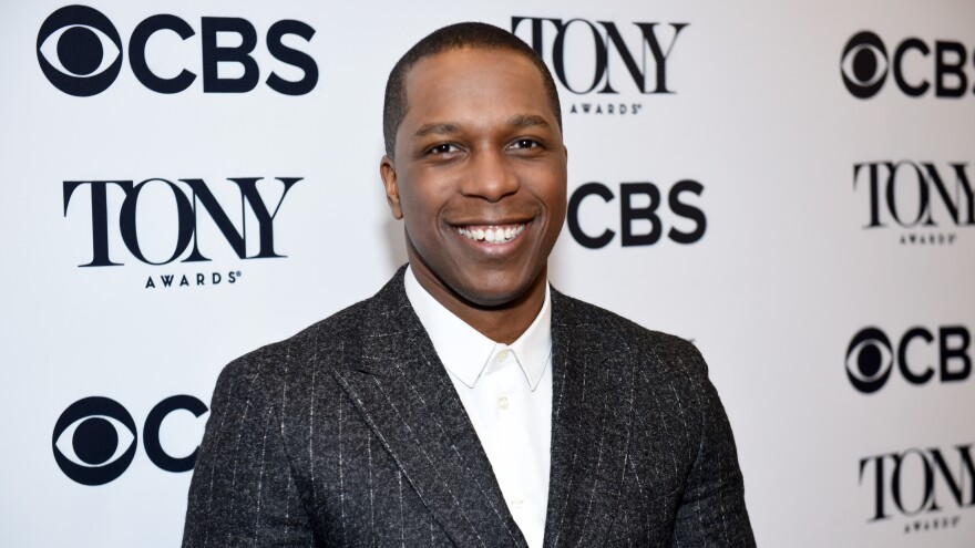 Actor Leslie Odom Jr. attends the 2018 Tony Awards Nominations Announcement on May 1, 2018. in New York City.
