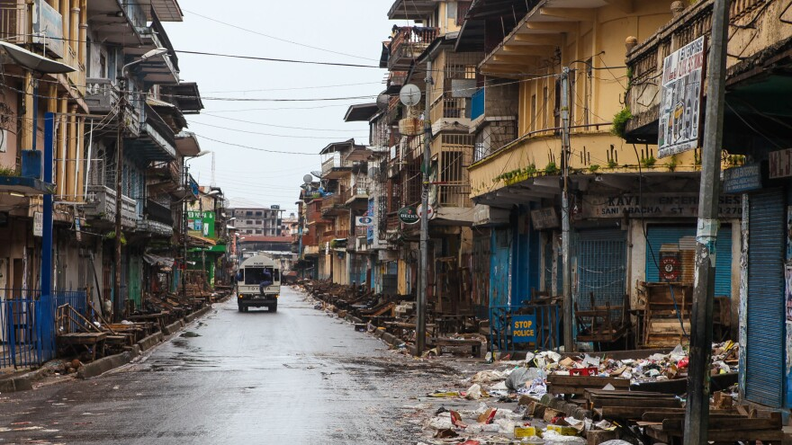 The lockdown cleared the streets of Sierra Leone but its impact on the spread of the virus weren't as apparent.