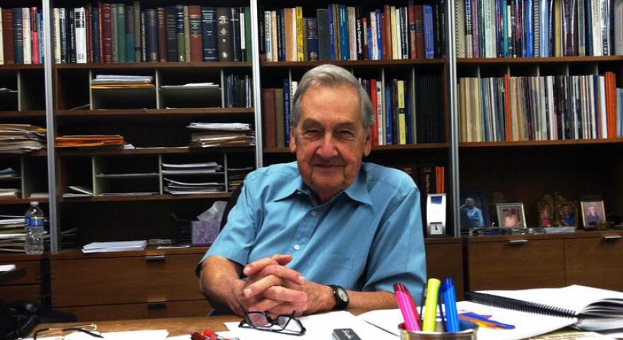 William Fisher teaches at UT's Jackson School of Geological Science.