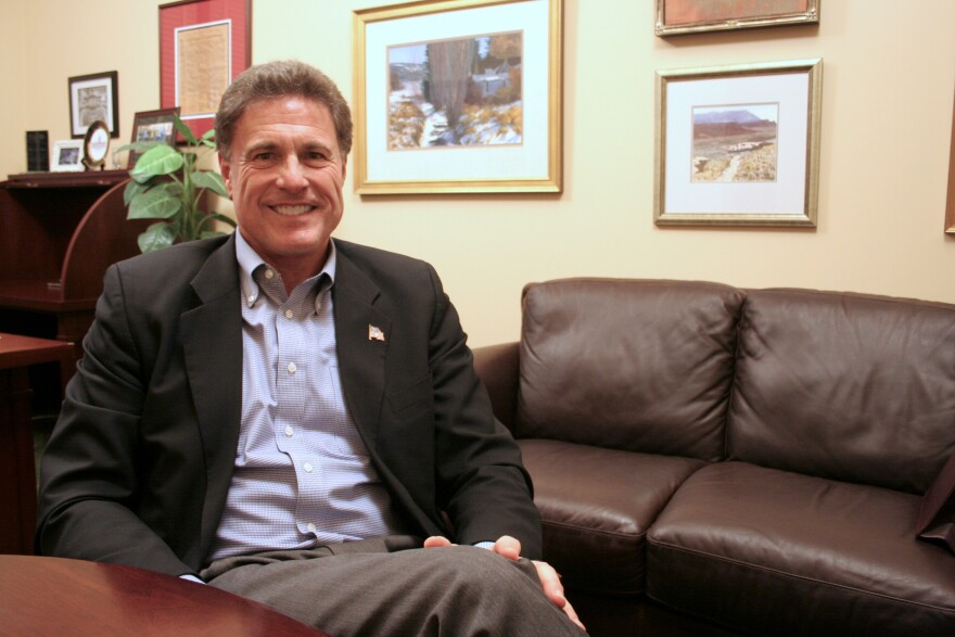 Photo of Rep. Jim Dunnigan.